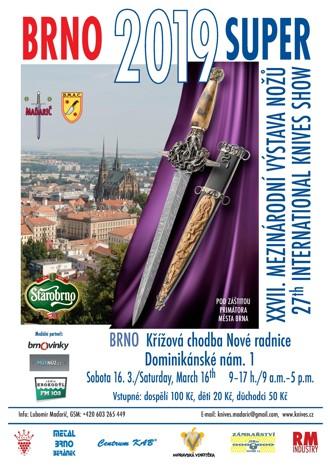 Mezinárodní výstavě nožů v Brně